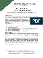 Boletín técnico