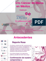 Observatorio Cáncer de Mama en México