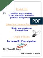 2 as - Projet 4 - 2 La Nouvelle d Anticipation 1 2