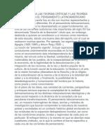 Pensamiento politico y latinoamericano