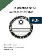 (Mineralogía 2) Practica Nº5 - Sulfatos y Fosfatos