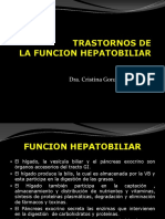 Trastornos de La Funcion Hepatobiliar y El Pancreas
