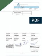 PLA-SSO-001 Preparación y Respuesta a Emergencias