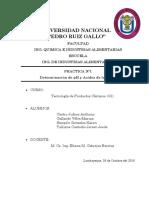 PRACTICA N°1-DETERMINACION DE PH Y ACIDEZ DE LA CARNE