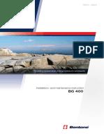 Bentone BG 400 Manual de Instalacion