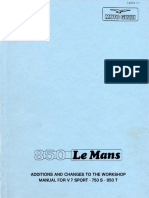 Workshop Manual 850 Le Mans