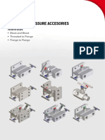 SmartLine Pressure Accessories -Manifold Catalogue