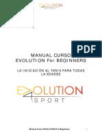 manual evolution