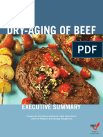 Dry Aging of Beef