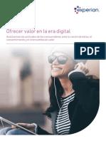Ofrecer Valor en La Era Digital Experian