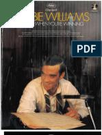 Robbie Williams - Swing When Youre Winning (Bb)