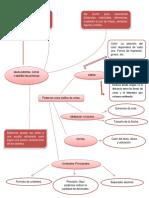 Mapa Mental Cotas y Diseño