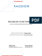 Rifling by Flow Forming