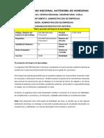 PLanificación de Mercados Financieros