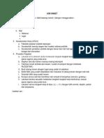 Job Sheet Membuat Menanam