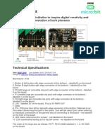 BBC Micro Bit Microcontroller