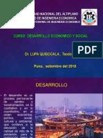 Desarrollo Economico y Social Set 2018
