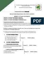 Guía de Exposiciones Teorías Sociologicas II Parcial 2016