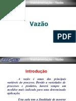 Palestra Instrumentação Vazão