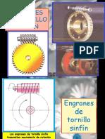 Engranes de Tornillo Sin Fin