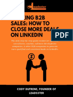 Hacking B2B Sales How to Close More Deals on LinkedIn