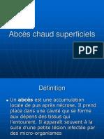 3.Abcès Chaud Superficiels