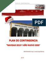 Plan de Contingencia Navidad y Año Nuevo