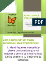 Orientações Para a Montagem de Um Mapa Conceitual