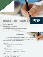 Decreto 1860, Agosto 3 1994