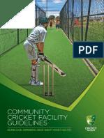 2015 CA Community Cricket Facilities Guidelines