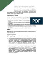 ACTA Remocion y Nombramiento - FINANCENTER