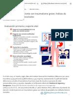 Atención Inicial Al Paciente Con Traumatismo Grave_ Índices de Gravedad y Factores Asociados