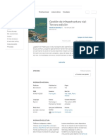 Gestión de Infraestructura Vial_ Tercera Edición, De Hernán de Solminihac T. - Libros en GooglePlay