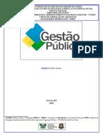01 - Gestão Pública - EaD - CFS 2019.3 - Módulo 1