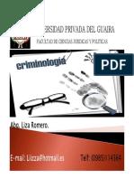 Criminologia-Unidad I - Copia