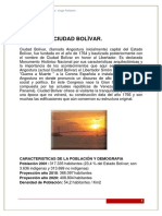 Caracterizaciòn de c. BolìvarENE