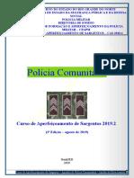 Apostila de Polícia Comunitária - CAS 2019