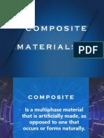 Composite Materials Report