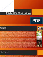 Pitch for Music Video NEA Media