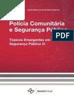 Polícia Comunitária - Tópicos Emergentes