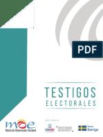 Ruta Electoral 2019 Testigos Electorales