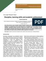 Discipline Learning