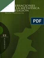 NICOLAS MALEBRANCHE (CONVERSACIONES SOBRE LA METAFÍSICA & LA RELIGIÓN).pdf
