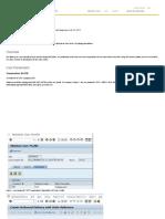 User Parameters - ERP SCM
