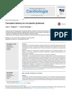 Conceptos b Sicos en Circulaci n Pulmon 2017 Revista Colombiana de Cardiolog