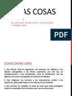 Derecho Romano, Clase 8 de Las Cosas
