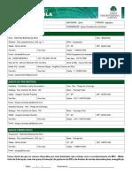 DOC3 - Formulário de Matrícula Oficial
