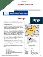 Provincia Santiago