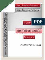 Confort Thermique 02