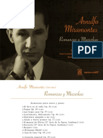 Arnulfo Miramontes Romanzas y Mazurkas
